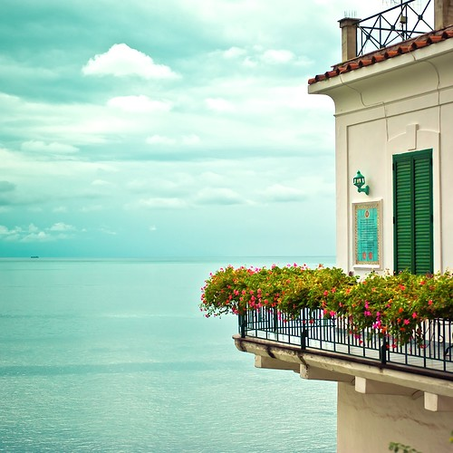 Italy / Amalfi / Summer / Sea / Flowers photo by ►CubaGallery