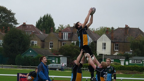 Johnny Crocket Claims a Lineout In Practice