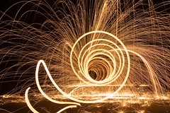 the spiral of fire photo by Mr Din