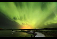 Aurora Explosion - Þingvellir, Iceland photo by orvaratli