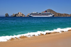 Carnival Splendor at Cabo San Lucas, Mexico photo by Serge Freeman