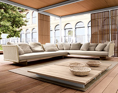 New inspiration: Unique Outdoor Interior Design by Paola Lenti photo by New Inspiration Home Design