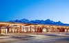 Your vacation starts the second you land. -Jackson Airport, at the foot of the Tetons.