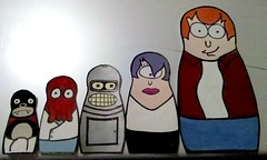 Futurama Matryoshka Doll Greeting Card photo by Manda (xSugar)