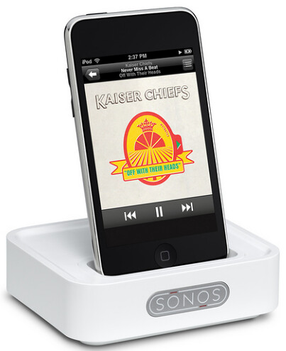Sonos Wireless Dock with iPhone