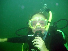 Shelby Under Water