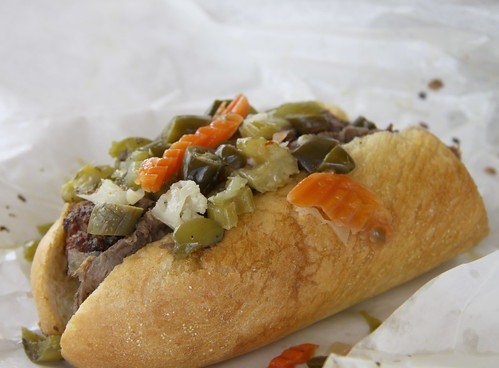 Johnnie's Italian Beef in Elmwood, IL - Combo Italian Beef