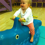 Having a great time at tumble tots<br/>19 Sep 2010