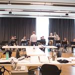 First rehearsal for PARADE at Writers Theatre. Photo by Joe Mazza—brave lux.