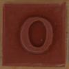 Stamp letter O