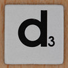 Word Game letter d
