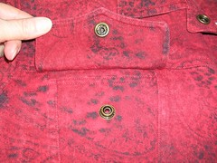 pocket red jacket