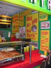 Papaya King stand