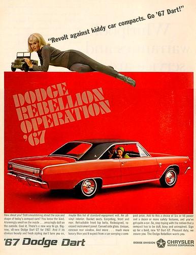 1967 Dodge Dart ad