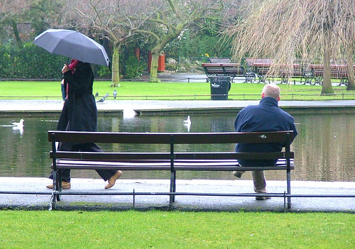 Rainy Day in St Stephens Green