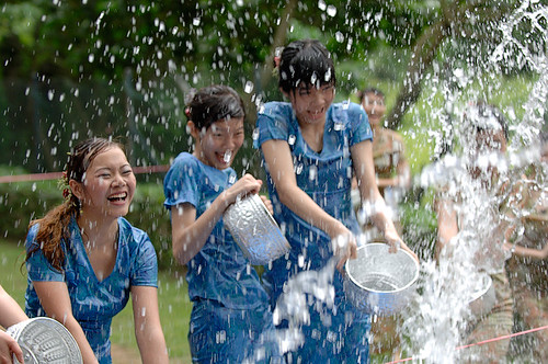 緬甸潑水節
