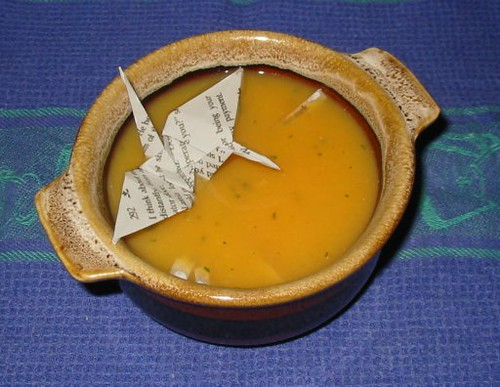 Day Ten:  pumpkin and Neverwhere soup