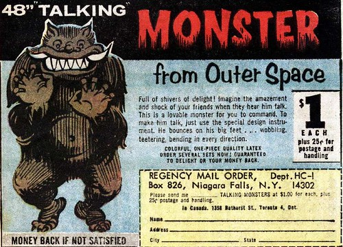 talking monster