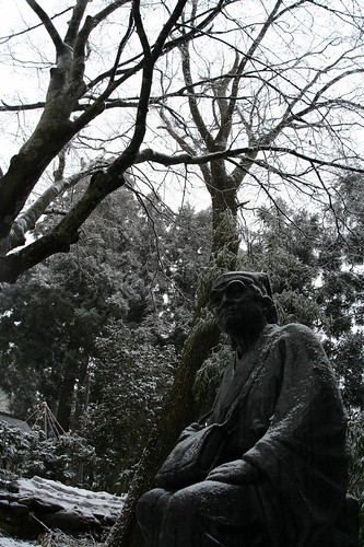 Basho in the snow