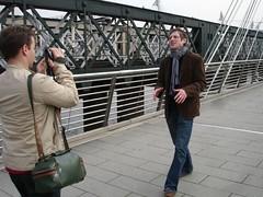 blogeur sur le pont
