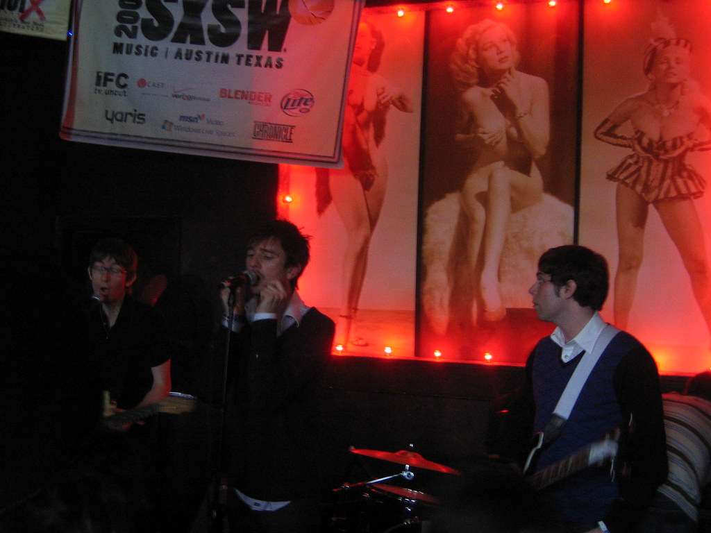 The Rakes @ NY2LON Party (SXSW)