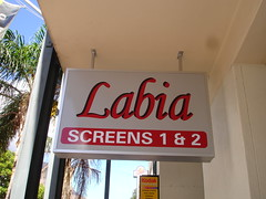 Labia movie theater in Capetown, South Africa