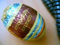 could be the most delicious chocolate egg ever in the world ever