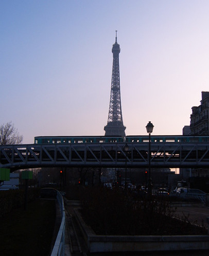 Eiffel Tower and Metro