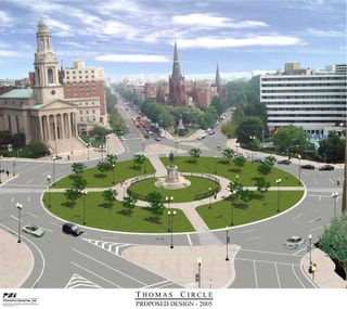 Thomas Circle Reconstruction, Washington, DC