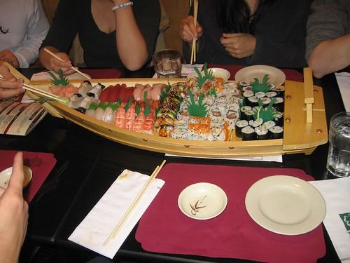 IAESTEs sushi boat