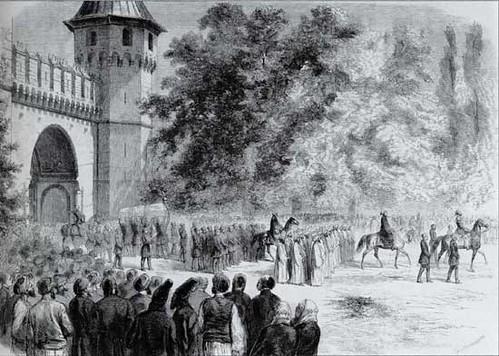 Topkapı Sarayı gravürü