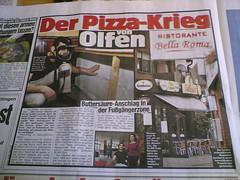 Pizza-Krieg in Olfen