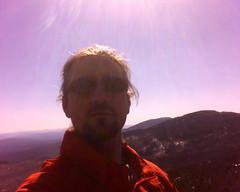 Mt. Worcester self portrait