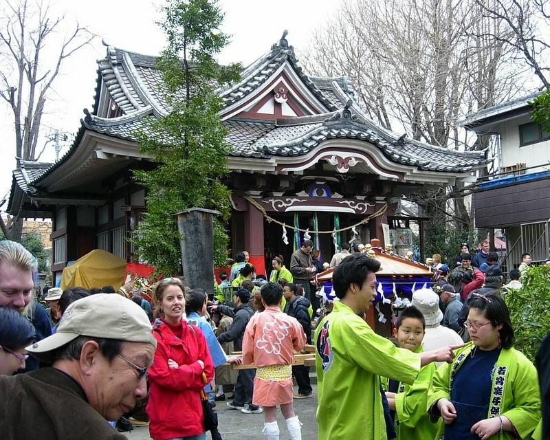 Wakamiya Hachimanguu (若宮八幡宮), Kawasaki