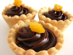 Passionately Chocolate Tartlets