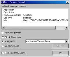 Jetico Firewall 02