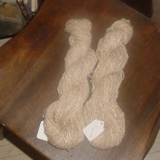 Wool, Silk and Angora blend Yarn
