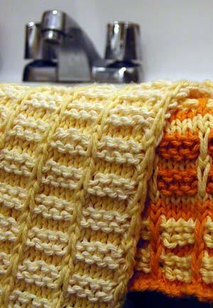 Free Pattern Cotton Dishclothwashcloth The Thrifty Knitter