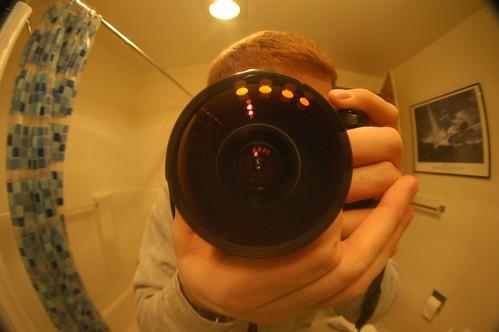 Self Portrait Fisheye
