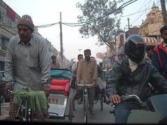 Rush hour in Delhi
