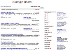 Strategic Board Screenshot