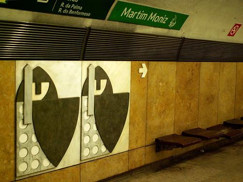 Lisboa - Metro station