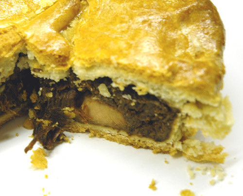 Turkey, Hare, Wild Boar and Pigeon Pie