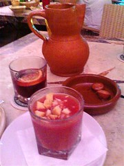 Sangria, Chorizos Fritos, and Gazpacho