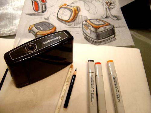 刘传凯的马克笔+彩铅产品手绘图经典步骤教程(精)