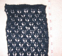 Qiviut Scarf Unblocked (Close-Up)