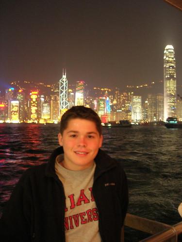 Andrew in Hong Kong