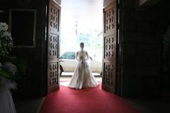door opens
