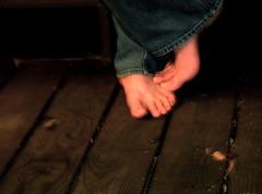 barefoot on christmas