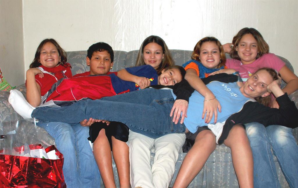 sarah and her kids